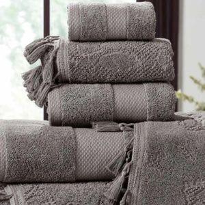 Nordstrom Bath - **Nordstrom Jacquard Tassels Towel 6-Piece Set NWT